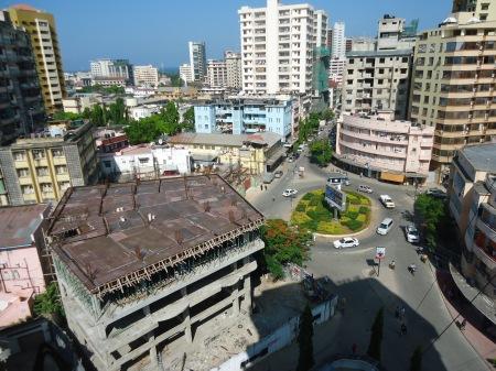 Le centre-ville de Dar es Salaam.