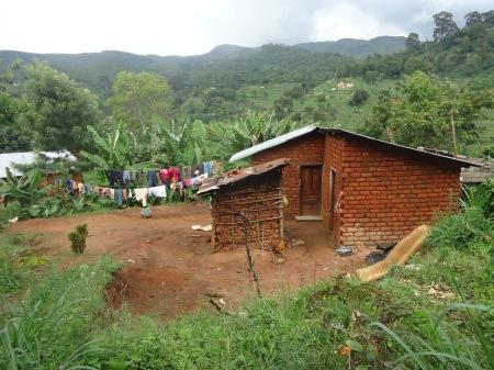 Maison de famille typique de paysan