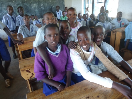 À la recherche des mentors... et à la rencontre des élèves du district.... Ici, dans le secteur de Matimba... et ci-dessous, dans le secteur de Tabagwe...