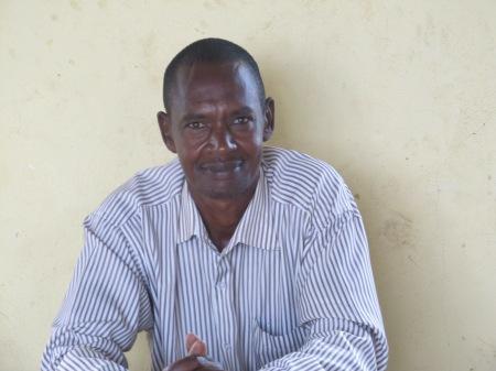 Emmanuel, directeur de l'école Cyonyo