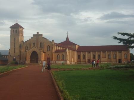 La cathédrale de Butare, samedi 11 mai.