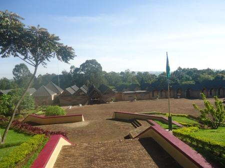 Entrée et partie du terrain du musée national
