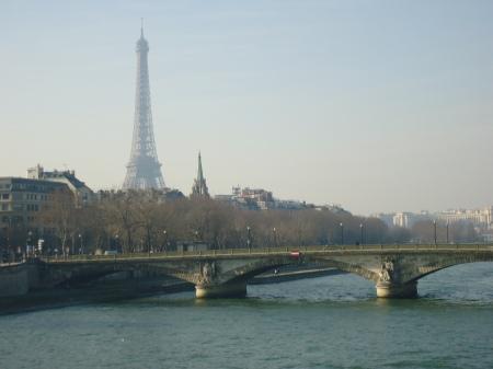 Paris, lors de mon plus recent séjour en janvier/février 2012