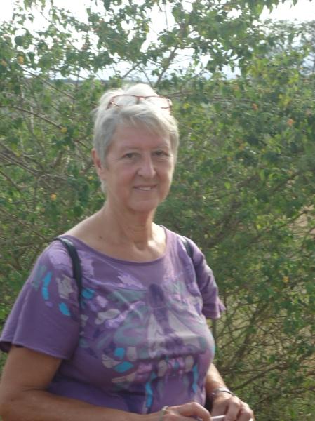 Hetty, coopérant VSO bénévole de la Hollande