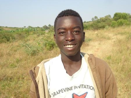 Nkusi, étudiant en S2 à l'école GS Nyagatare. Son objectif: devenir Premier ministre du Rwanda! Bonne chjance, Nkusi!