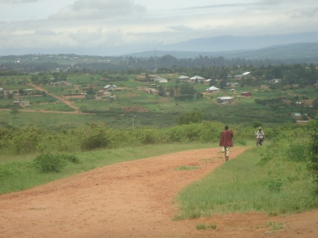 Panorama de la région de Nyagatare, avril 2013