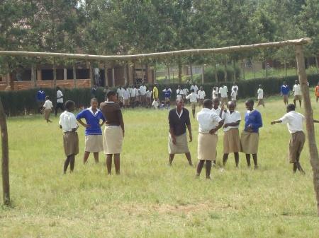 La cour de recréation, Groupe Scolaire Nyagatare
